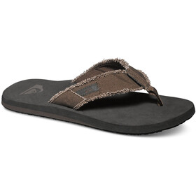 Quiksilver Monkey Abyss Men Sandals solid demitasse